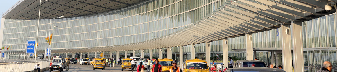Kolkata Airport (CCU) is located in Kolkata, the capital city of West Bengal state